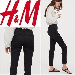 NWT H&M Black Silky Ankle Length Slacks